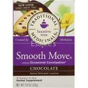 Traditional Medicinals Laxative Smooth Move Chocolate Tea
