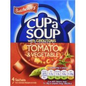 Batchelors Tomato & Vegetable With Croutons Cup A Soup