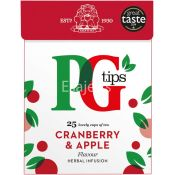 Pg Tips Cranberry & Apple Herbal Infusion Tea