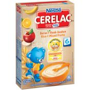 Nestle Rice and Mixed Fruits Baby Cereal