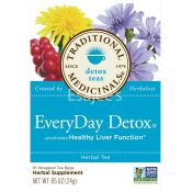 Traditional Medicinals Everyday Detox Tea Bags