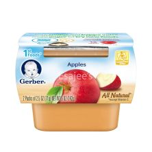 Gerber Apple Sauce Baby Food Stages 1