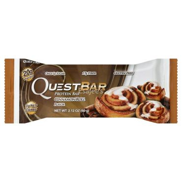 Quest Cinnamon Roll Protein Bars