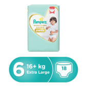 Pampers Premium Care Pants Diapers Size 6 Extra Large >16kg Carry Pack