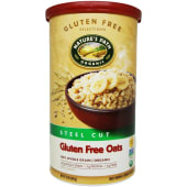 Natures Path Hot Oatmeal Gluten Free Steel Cut Oats 850g