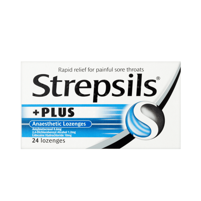 Strepsils Plus With Anasthetic Actions