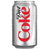 Coke Diet Soft Drink Can