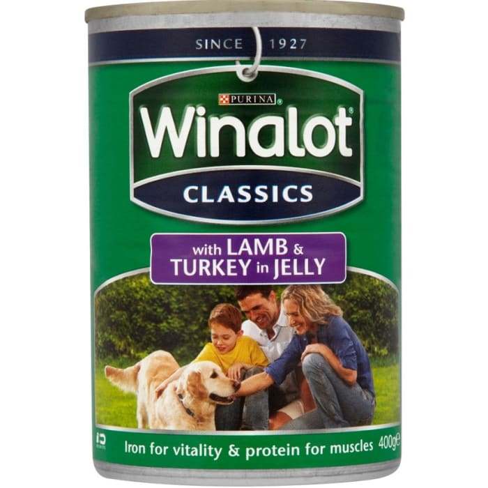 Winalot Lamb & Turkey In Jelly Dog Food