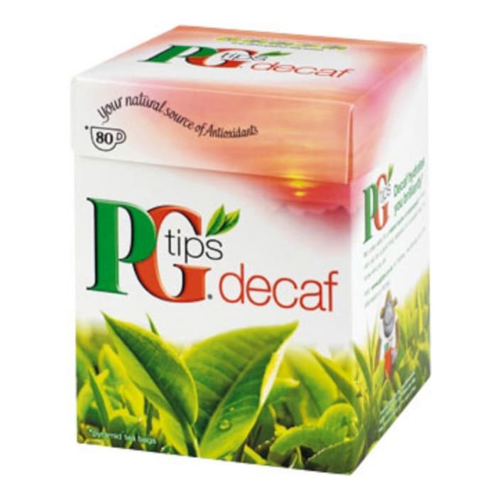 PG TIPS Pg Tips Pyramid Decaffeinated Tea