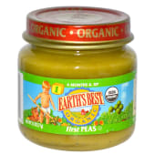 Earth's Best Organic Stage 1 First Peas Baby Food