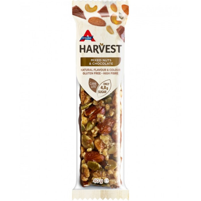 Atkins Harvest Mixed Nuts &Chocolate 40g