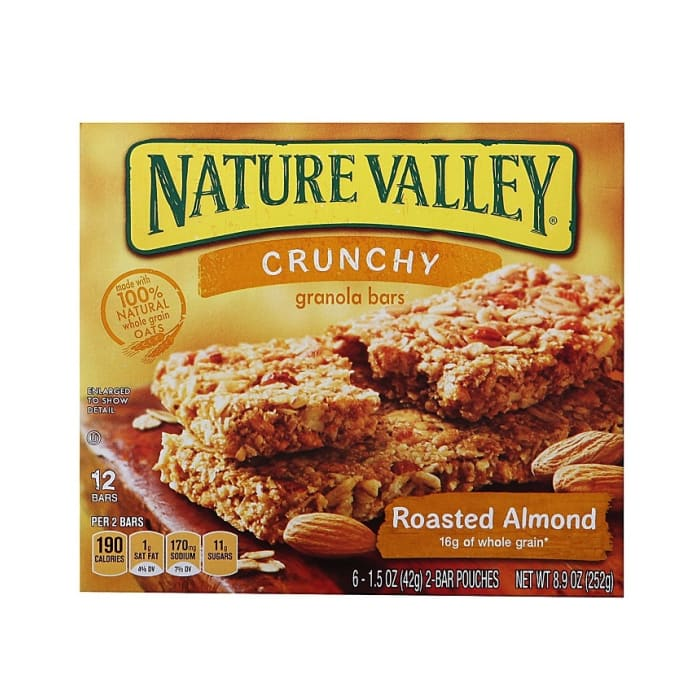 Nature Valley Roasted Almond Crunchy Granola Bars