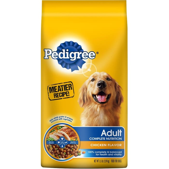 Pedigree  Complete Chicken Flavor  Adult Dog Food