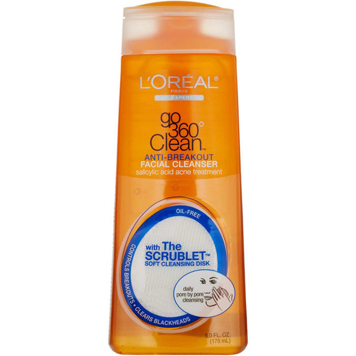 Loreal Go Clean Facial Cleanser Anti Breakage