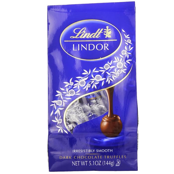 Lindt Lindor Truffles Dark Chocolate Bag