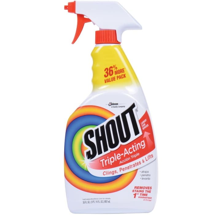 Shout Cleaner House Hold Laundry Stain Remover
