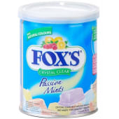 Fox's Candy Passion Mints Crystal Clear