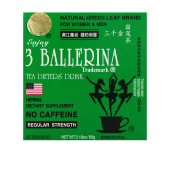 3 Ballerina Herbal Drink Regular Strength for Men & Women - No Caffeine