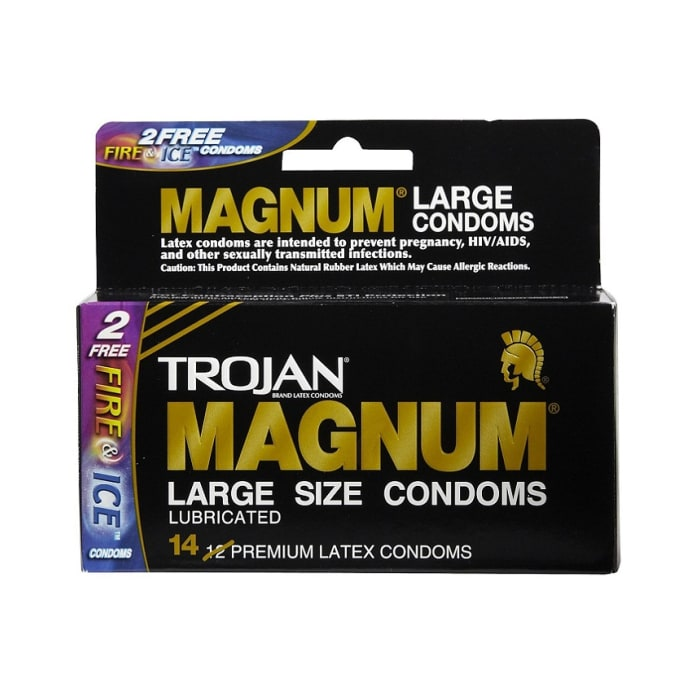 Trojan Condoms Large Lubricated Magnum