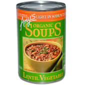 Amys Organic Soup Lentil Vegetable
