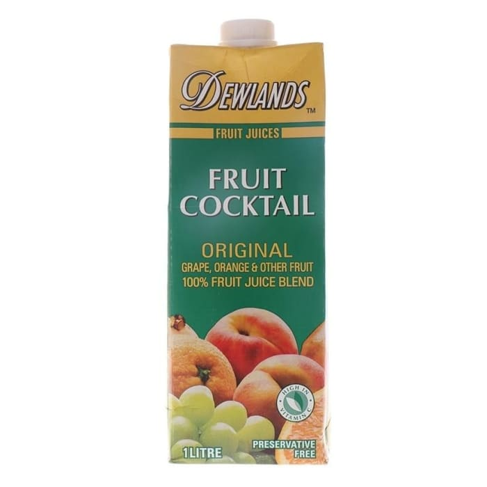 Dewlands Juice Fruit Cocktail