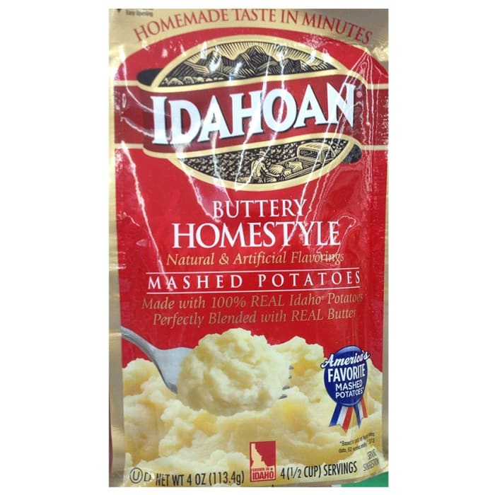 Idahoan Butter Homestyle Mashed Potatoes