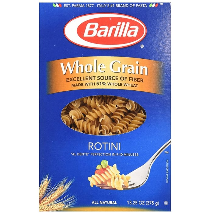 Barilla Whole Grain Rotini Pasta