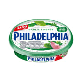 Philadelphia Cheese Garlic & Herb 180g