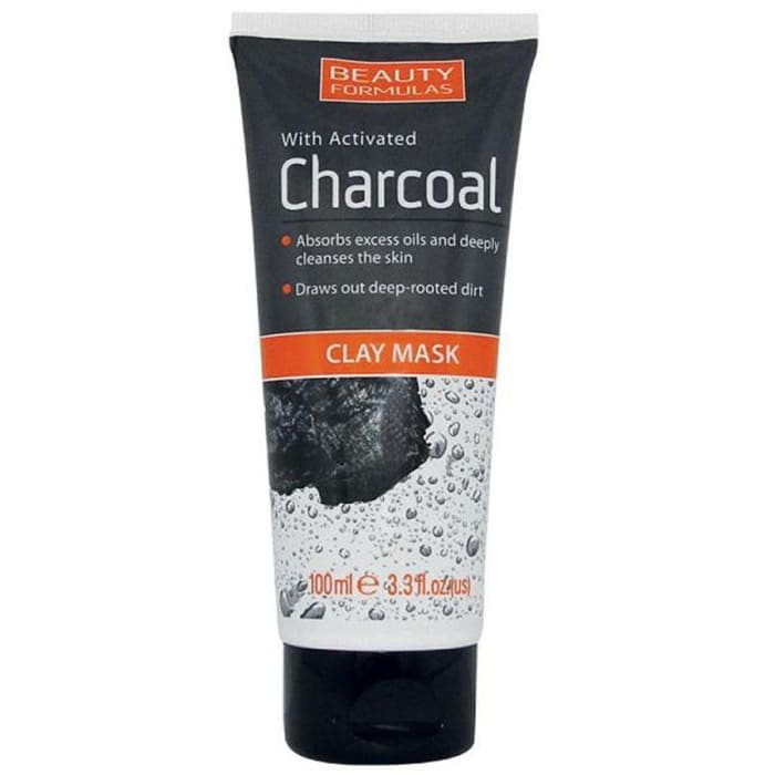 Beauty Formulas With Activated Charcoal Clay Mask
