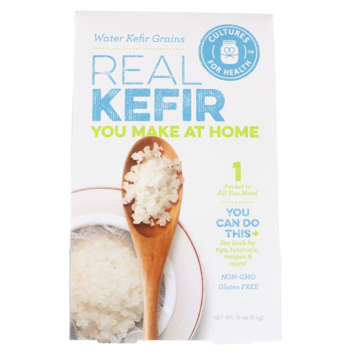 Cultures for Health Water Kefir Grains Real Kefir Organic Gluten Free 5.4g