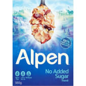 Alpen Muesli Cereal No Sugar Added