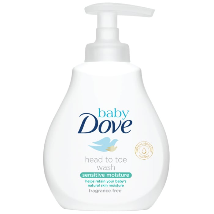 Baby Dove Sensitive Moisture Fragrance Free Head to Toe Wash