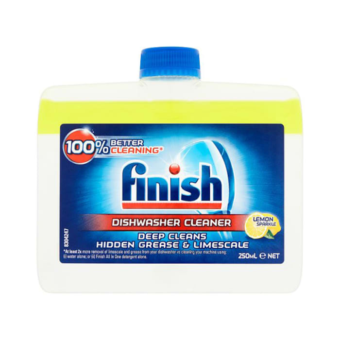 Finish Lemon Dishwasher Cleaner 250Ml