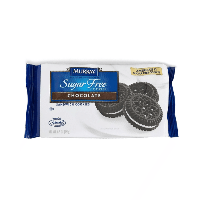 Murray Chocolate Sugar Free Sandwich Cookies