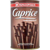 Papadopoulos Caprice Dark wafer rolls 250g