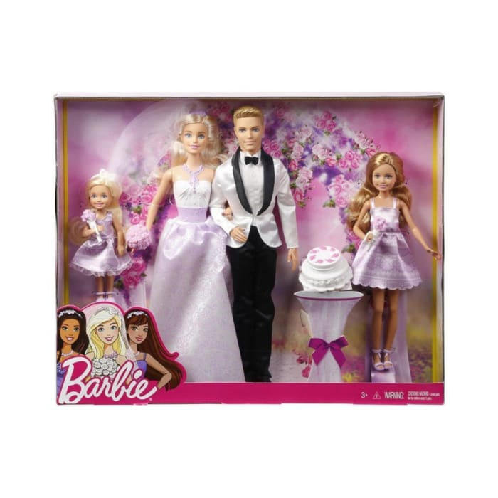 Barbie Wedding Doll Set