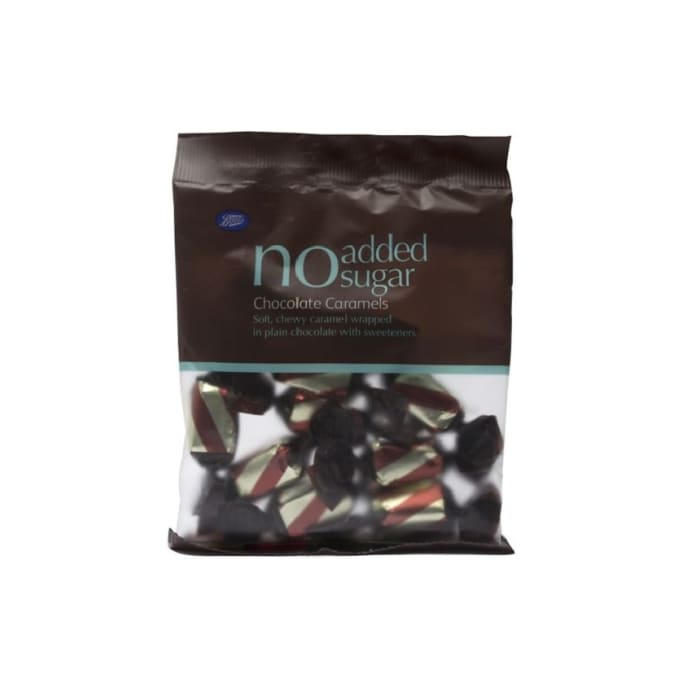 Boots No Added Sugar Chocolate Caramels