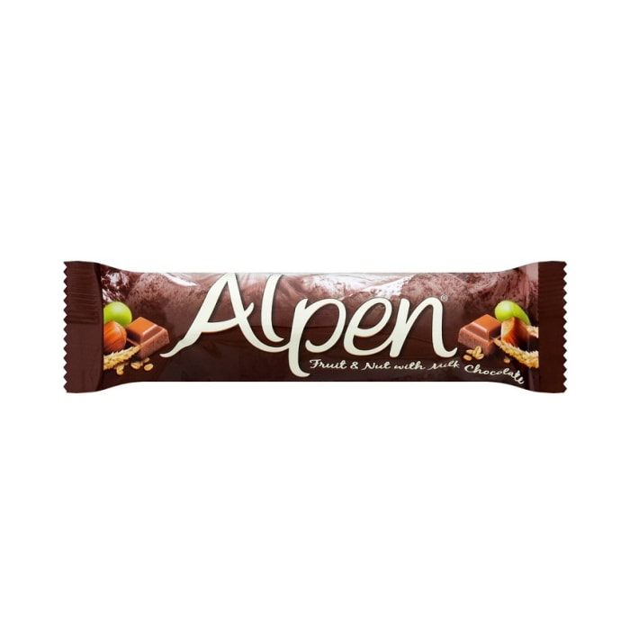 Alpen Fruit & Nut White Chocolate Bar