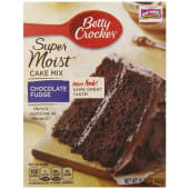 Betty Crocker Chocolate Fudge Supermoist Cake Mix