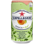 San Pellegrino Peach Iced Tea Cans 250ml