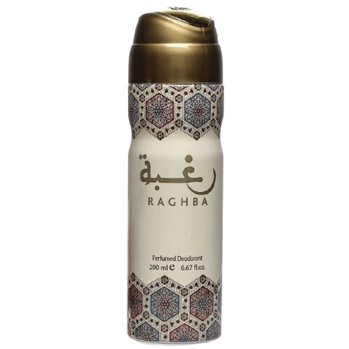 Lattafa Raghba Body Spray 200ml