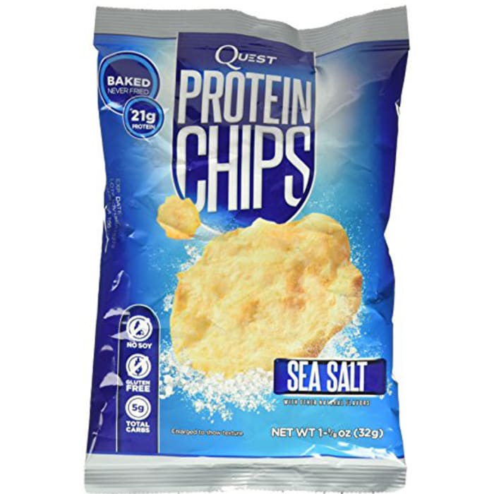 Quest Protein Chips Sea Salt Flavor