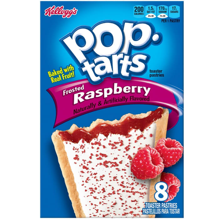 Kellogg's Pop-Tarts Toaster Pastries Frosted Raspberry
