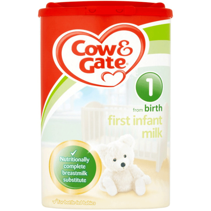 Cow Gate First Infant Milk From Birth Stage 1