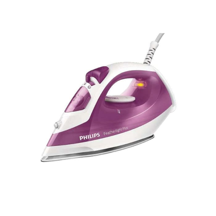Phillips Featherlight Plus Steam iron with non-stick soleplate