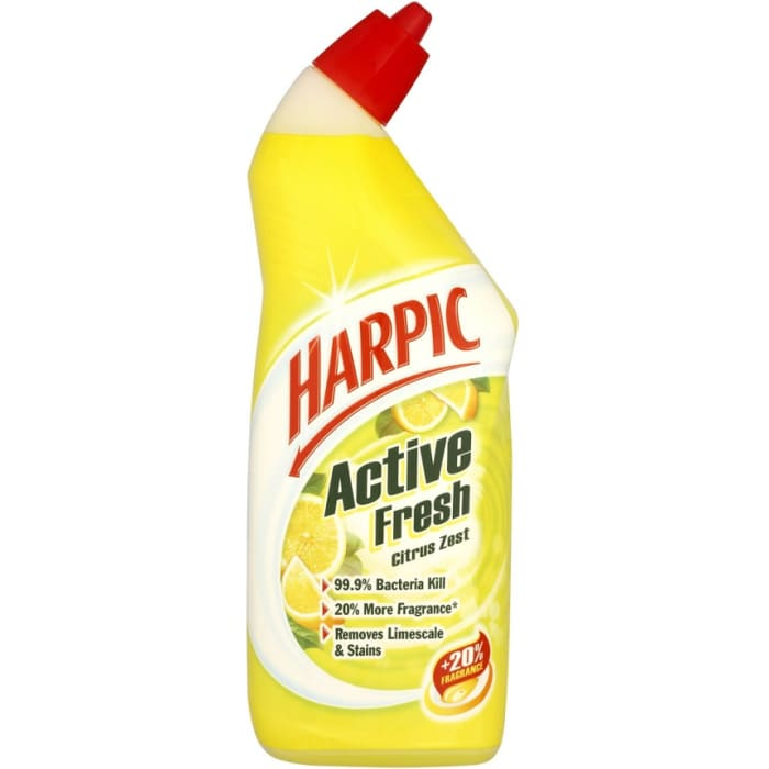 Harpic  Active Fresh Citrus Zest Cleaning Gel