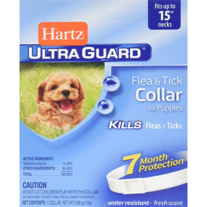 Hartz Dog Ultraguard Flea & Tick Puppy Collar