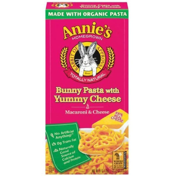 Annie's Classic Organic Bunny Pasta With Yummy Cheese