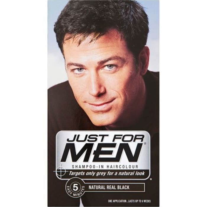 Just for Men Real Black Hair Colour