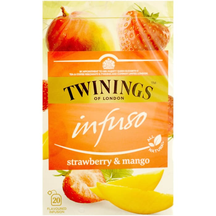 Twinings Infuso Strawberry & Mango Tea 40g